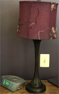 very pretty! 2 small end table lamps for sale, local pickup, cherry-hill-nj