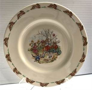 Bunnykins Plate ROYAL DOULTON 1936 PLATE, $49.99 shipped. Great Easter Decor !