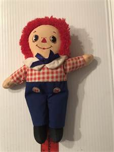 vintage raggedy Andy 8 inches small and cute Cherry Hill, NJ local pickup or shipping available
