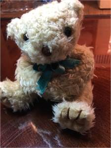 PRICE DROP! Cute Teddy Bear with Green Bow