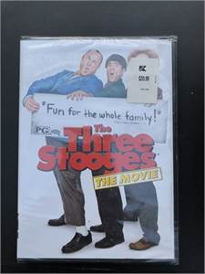 New and Sealed, The Three Stooges DVD, from Cherry Hill, NJ