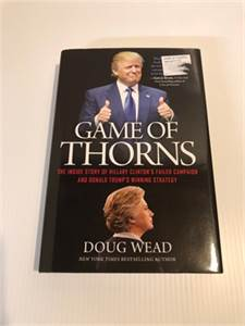 Donald Trump: Game of Thorns, ISBN13: 9781478921424 shipping included-cherry-hill-nj