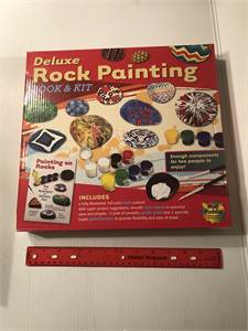 rock painting kit new in box  Cherry Hill, NJ local pickup or shipping available