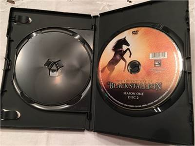 Black Stallion DVD - 2 discs - 13 episodes - Season one, volume one. $9.99 shipped