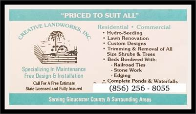 Professional Landscaping Services by Creative Landworks, Inc.