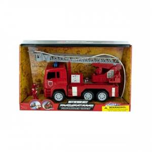 Fire Rescue Truck With Real Working Water Hose! Awesome!