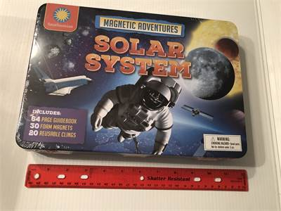 new in box and sealed, solar system magnetic Smithsonian, new great deals with shipping included