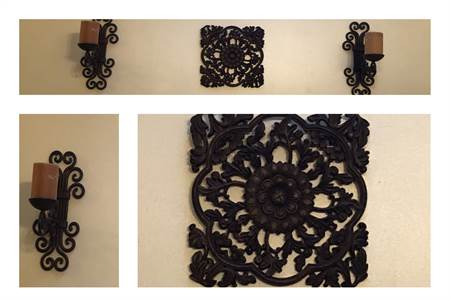 wall decor and wall sconces local pick up Cherry Hill New Jersey
