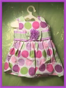 Polka Dot Beauty! Dress fits American Girl Doll or Generation Doll