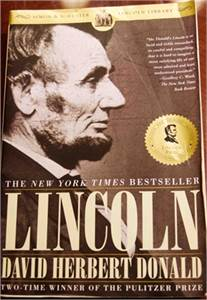Lincoln by David Herbert Donald ISBN-10: 068482535X ISBN-13: 978-0684825359 price drop 2019 !