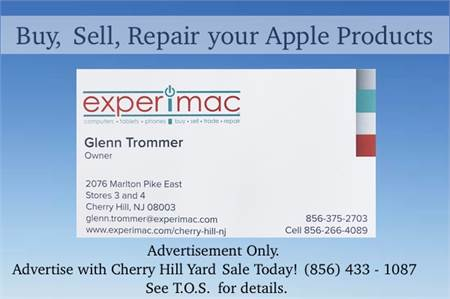Experimax of Cherry Hill. Buy, Sell, Repair Your Apple Devices iPhone®, iPad® tablets, computers and