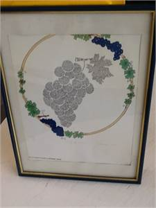 Song of Songs Serigraphy by Nechama Weiss. Cherry Hill, NJ