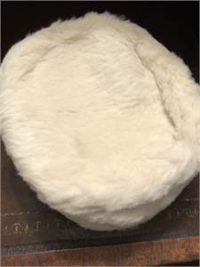 Vintage Child's White Hat: Rabbit fur      Cherry Hill, NJ with shipping available