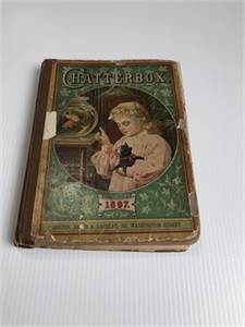 SOLD! Chatterbox, Fantastic Antique Find from 1897! Antique Book for Children, Cherry Hill, NJ