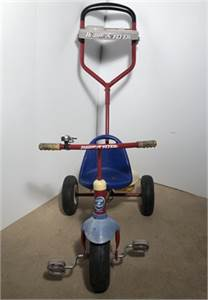 tricycle with guided handlebar preowned good condition-cherry-hill-nj