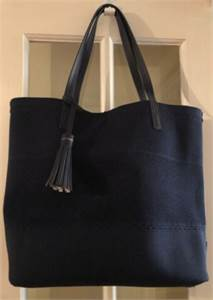 Cole Haan Womens Shoulder Bag Navy Blue Tote   New with Tags and New Sunglasses