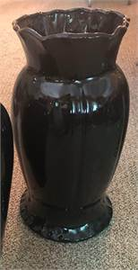 "Tall black vase approx 24"" pickup cherry hill nj"