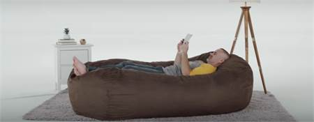 Massive Comfy Sack Lounge Gigantic Bean Bag Lounge