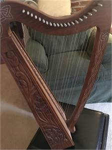 Beautiful Lap Harp