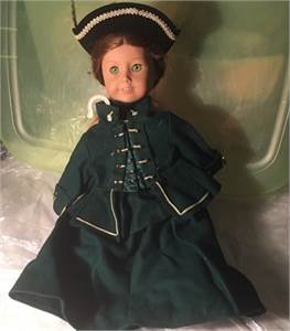 American Girl Felicity Doll and Felicity's Original Clothing For Sale. Free Shipping