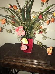 artificial flower arrangement,  Cherry Hill, NJ