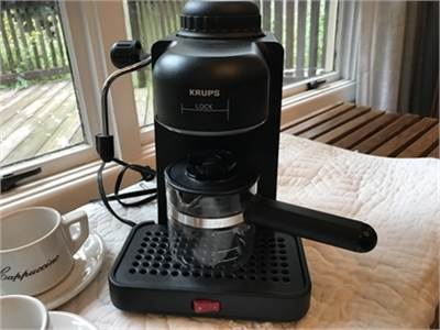 KRUPS Espresso Mini electric espresso/cappuccino machine, Model #963 Coffee maker-cherry-hill-nj