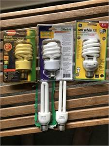 Light bulbs 5 energy-saver light bulbs. cherry-hill-nj