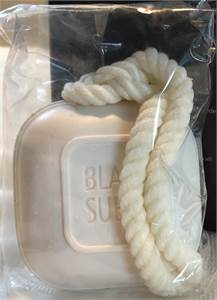 Black Suede, Soap on a Rope Gift, $12.00 shipped