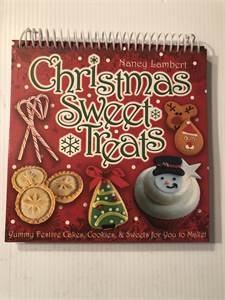 Christmas treats recipe book standing recipe kids cookbook  Cherry Hill, NJ local pickup or shipping