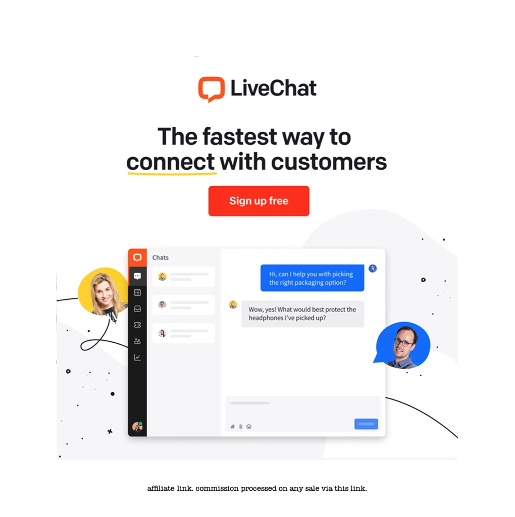 Live Chat with your customers!